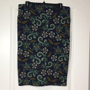 NWOT LulaRoe Cassie Skirt - XL